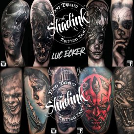 Shadink Tattoo Ink Luc Ecker Louis Vicdeo Dones