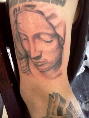 Portrait Hoody Tattoo