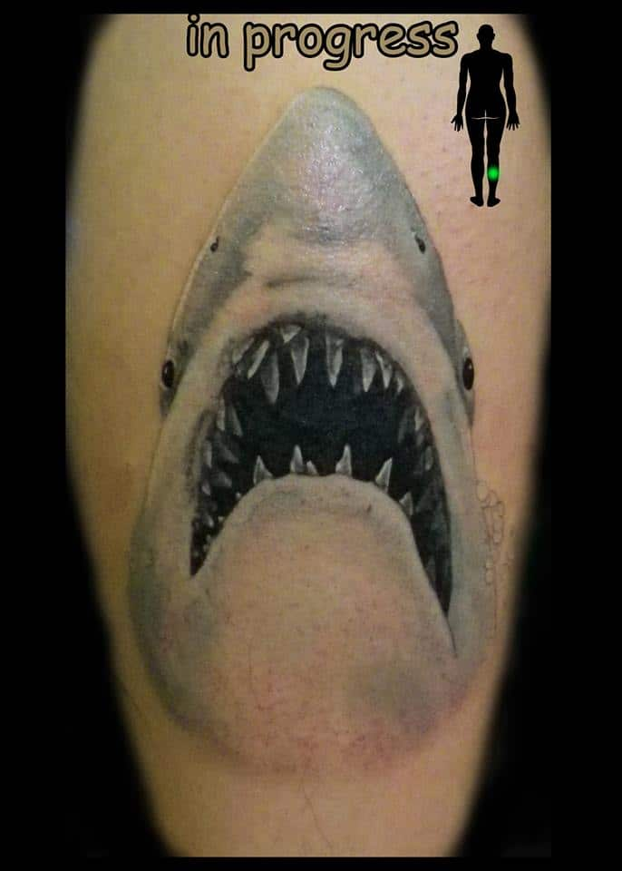 shark tattoo