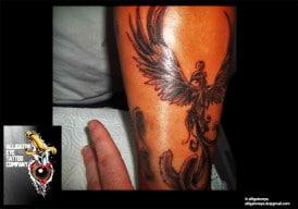 Pheonix Tattoo 2