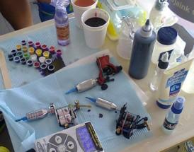 tattoo workstation setup