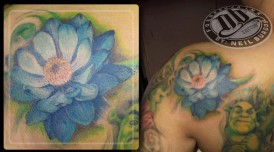 Blue Lotus Tattoo