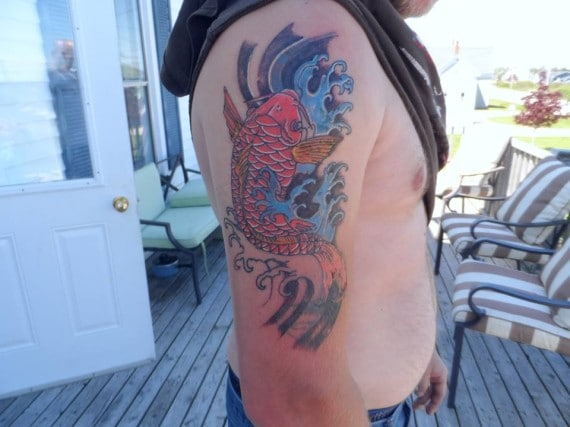Koi Fish Tattoo