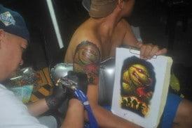 ninja turtle tattoo