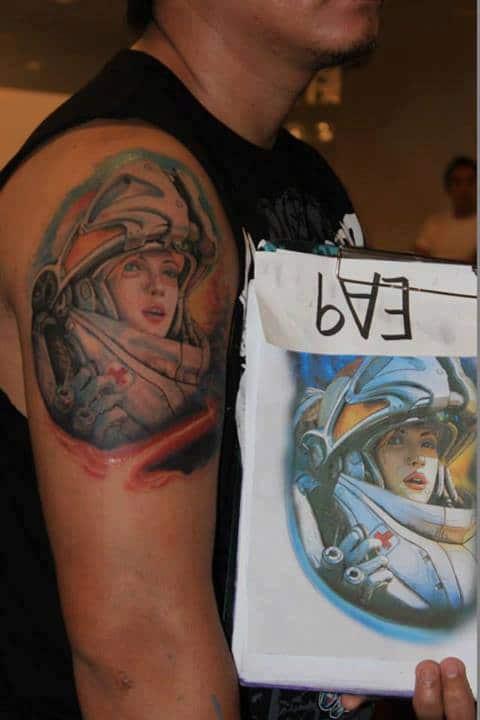 Starcraft Medic Tattoo