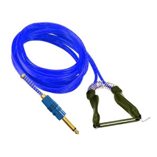 blue silicone tattoo clip cord