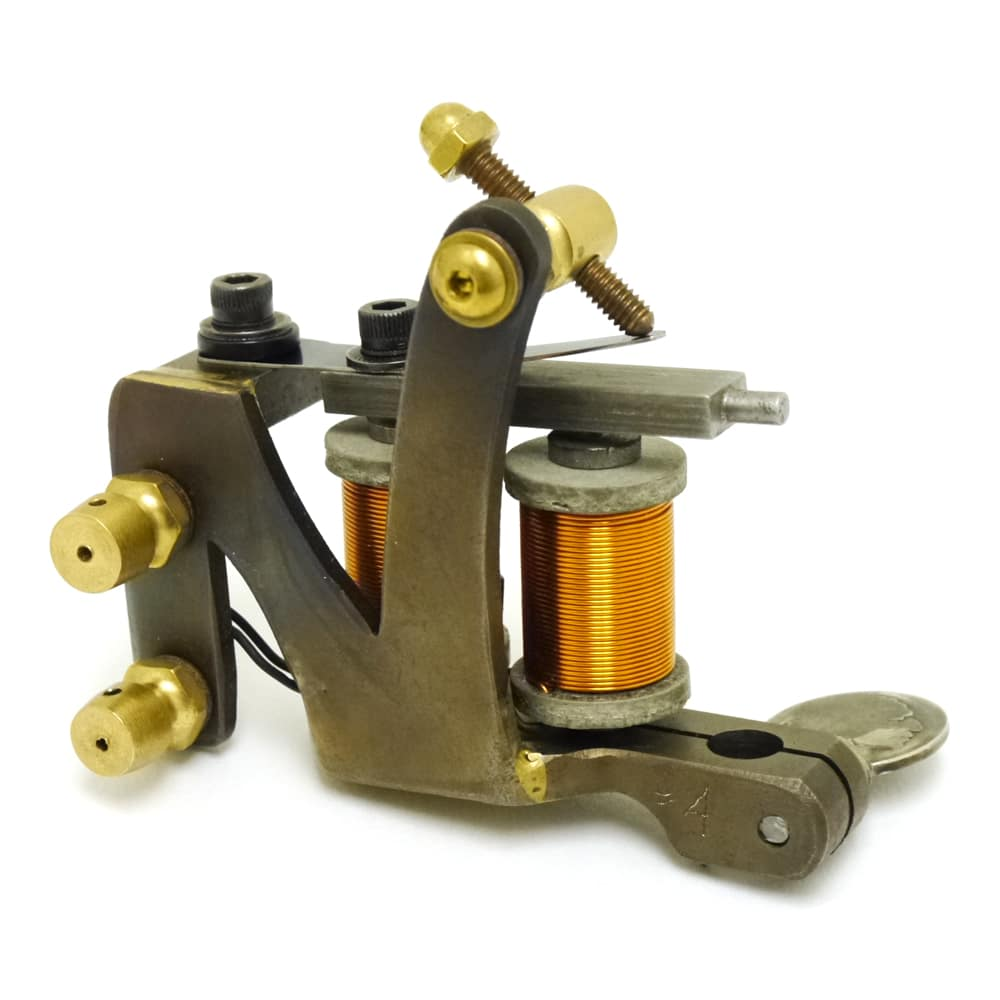union tattoo machine custom zed used by freddy negrete