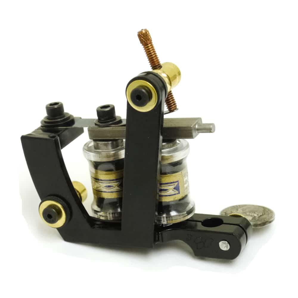 union tattoo machine custom black knight used by freddy