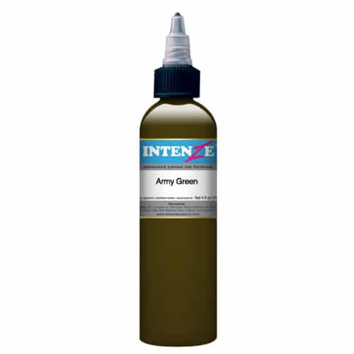 Intenze Army Green 1oz