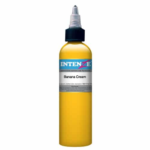 intenze tattoo ink banana cream 1oz