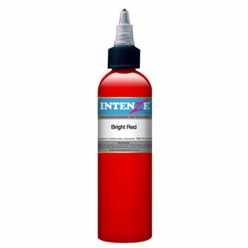 intenze tattoo ink bright red 1oz