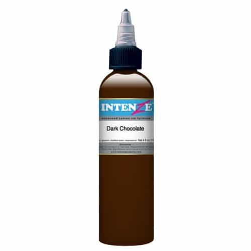 Intenze Tattoo Ink, Dark Chocolate 1oz