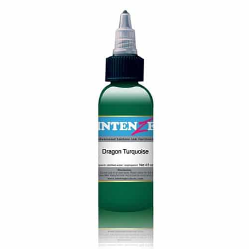 Intenze Tattoo Ink, Dragon Turquoise 1oz