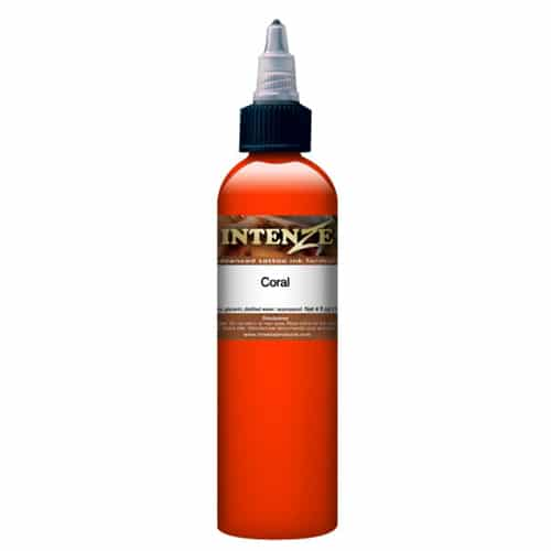 Intenze Tattoo Ink, Mike DeMasi Coral 1oz