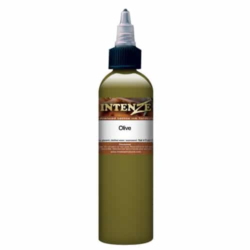 Intenze Tattoo Ink, Mike DeMasi Olive 1oz