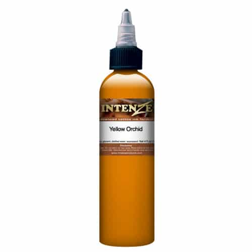 Intenze Tattoo Ink, Mike DeMasi Yellow Orchid 1oz