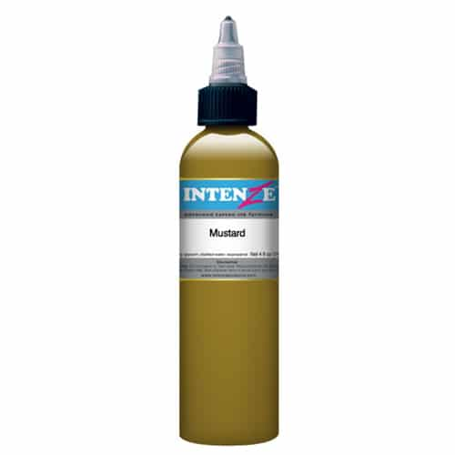 Intenze Tattoo Ink, Mustard 1oz