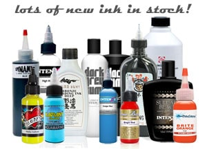 new tattoo ink in stock