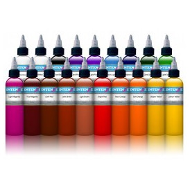 19 color set tattoo ink