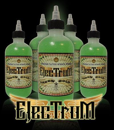 electrum tattoo stencil banner
