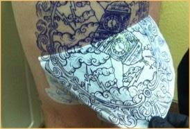 electrium tattoo stencil primer example 2