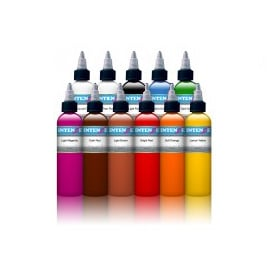 Intenze tattoo ink set primary Light