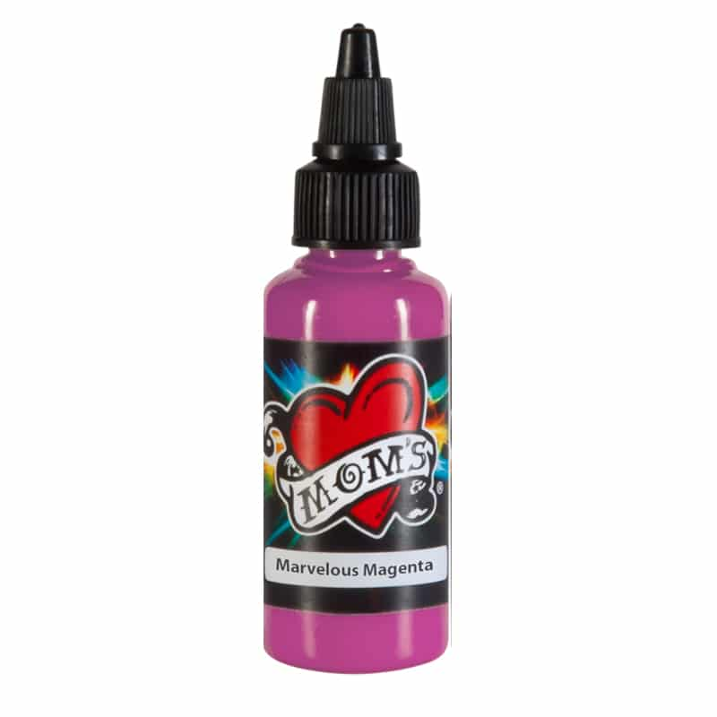 MOMs Tattoo Ink Marvelous Magenta, 1oz