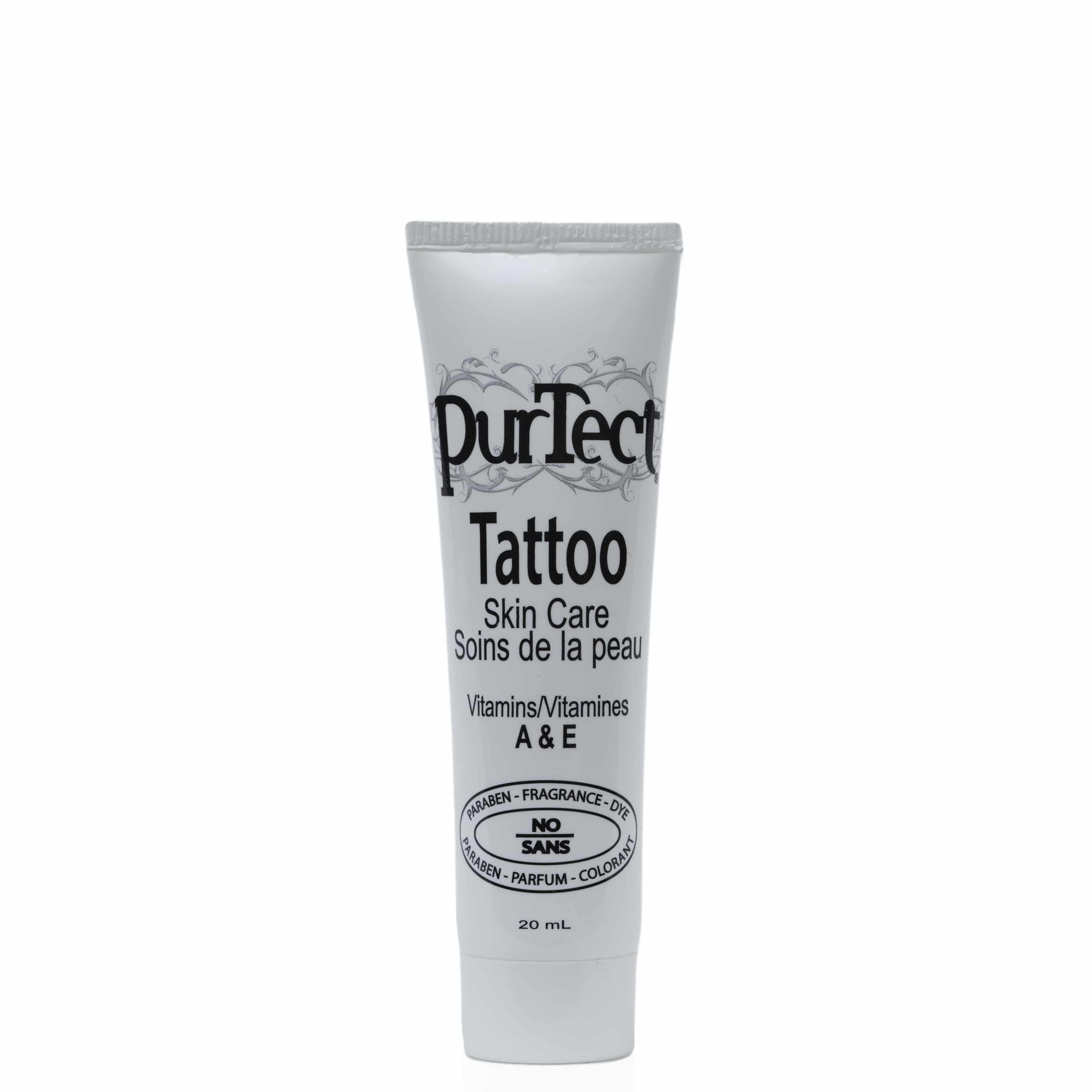 Purtect tattoo antiseptic aftercare for Best ointment for tattoos aftercare