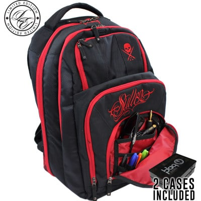 tattoo travel bag blaq paq onyx redline