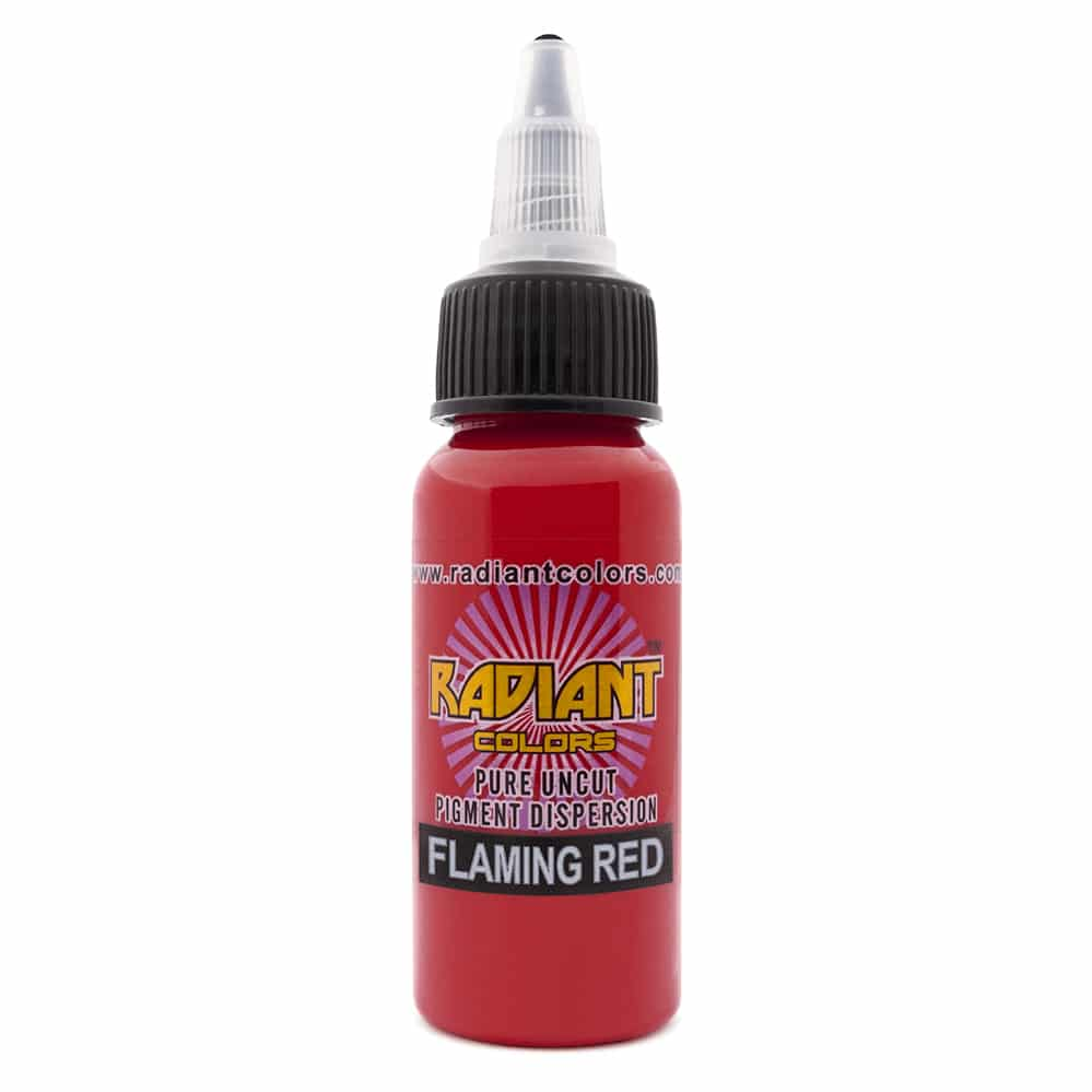 Tattoo Ink: Radiant Colors Flaming Red 1/2oz
