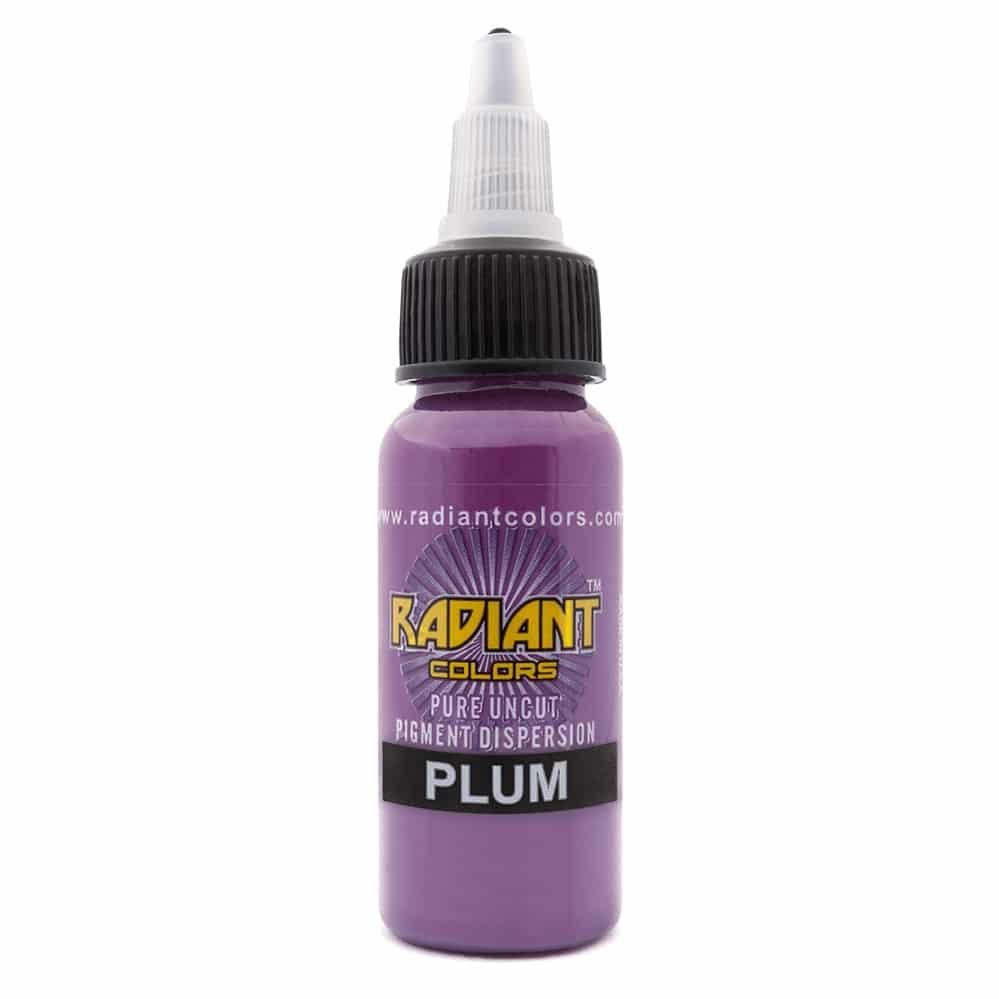 Tattoo Ink: Radiant Colors Plum 1/2oz