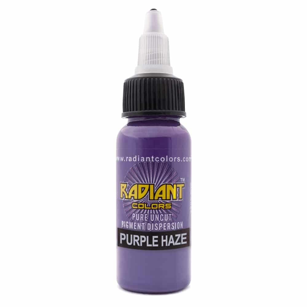 Radiant Colors Tattooing Ink Purple Haze 1 2oz