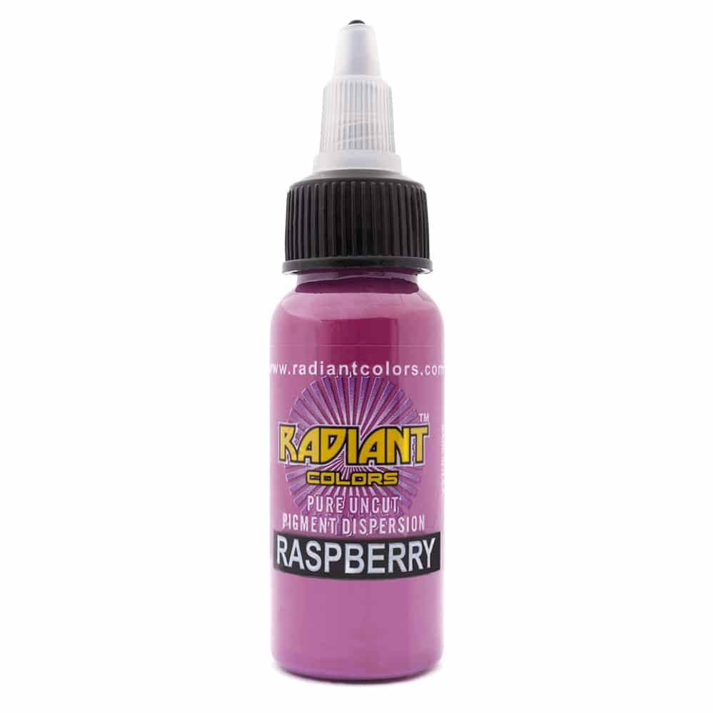 Radiant Colors Tattooing Ink: Raspberry 1/2oz.