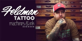feldman tattoo artist custom machines