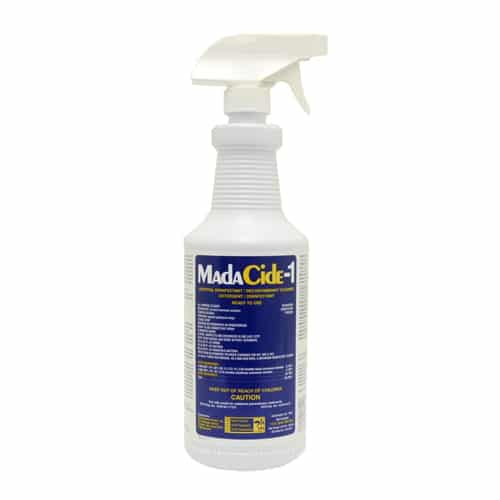 Madacide-1 tattoo surface disinfectant 2