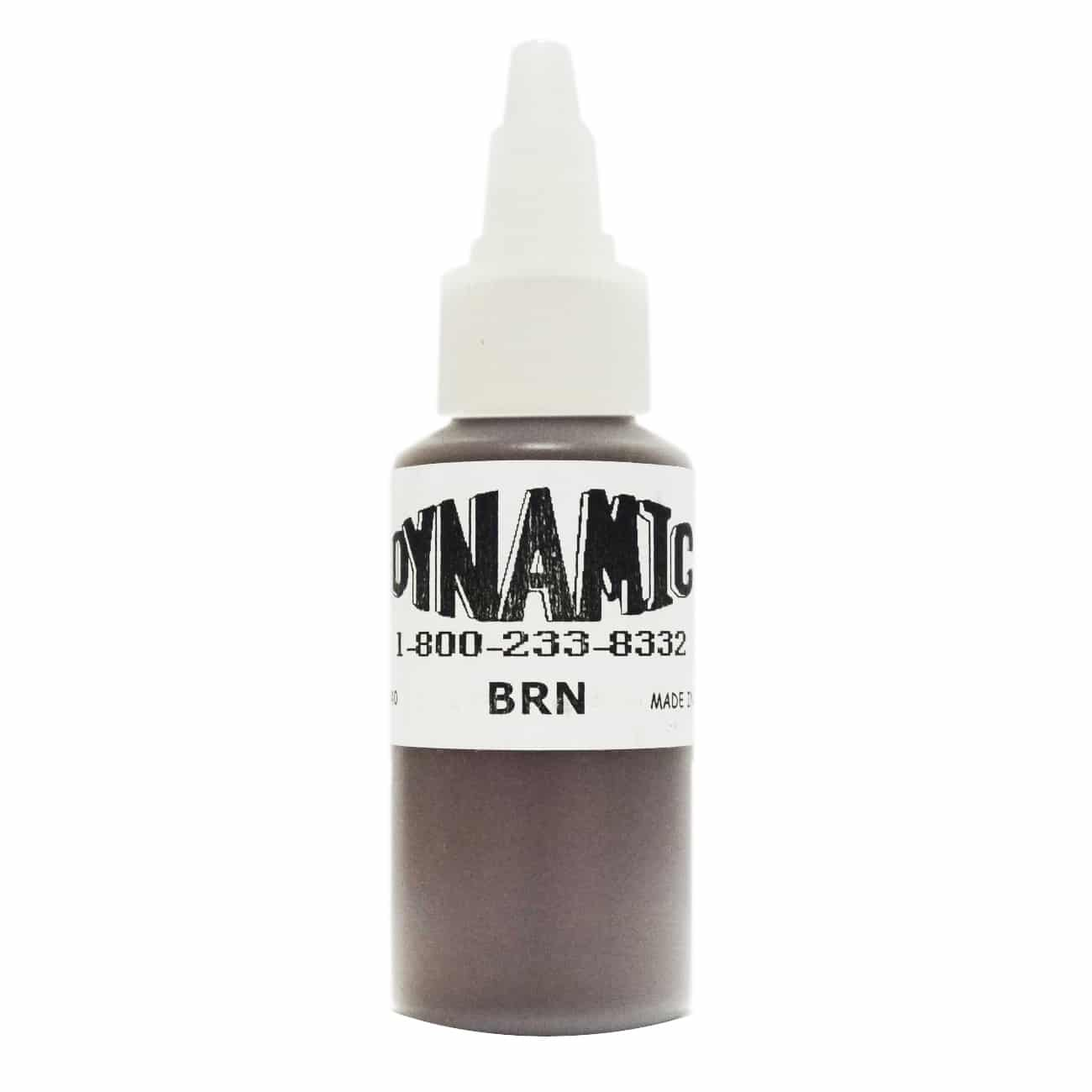 Dynamic Color Tattoo Ink 1oz: Brown
