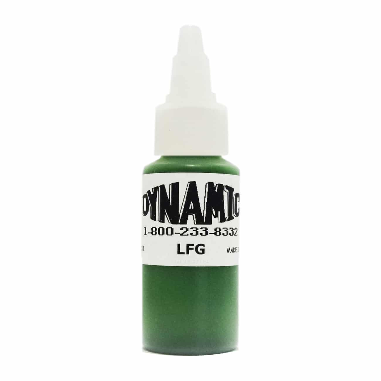Dynamic Color Tattoo Ink 1oz: Leaf Green