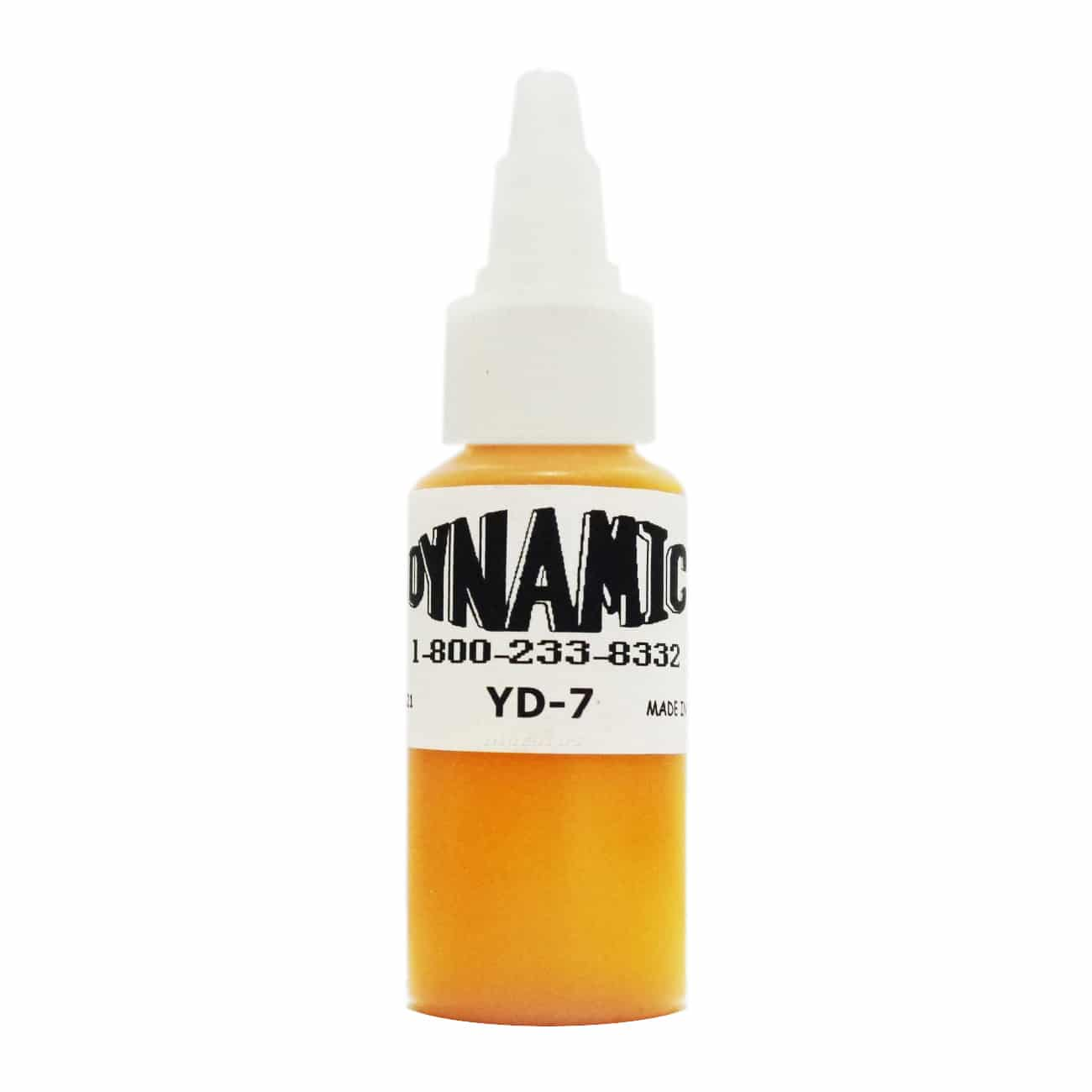 Dynamic Color Tattoo Ink 1oz: Golden Yellow