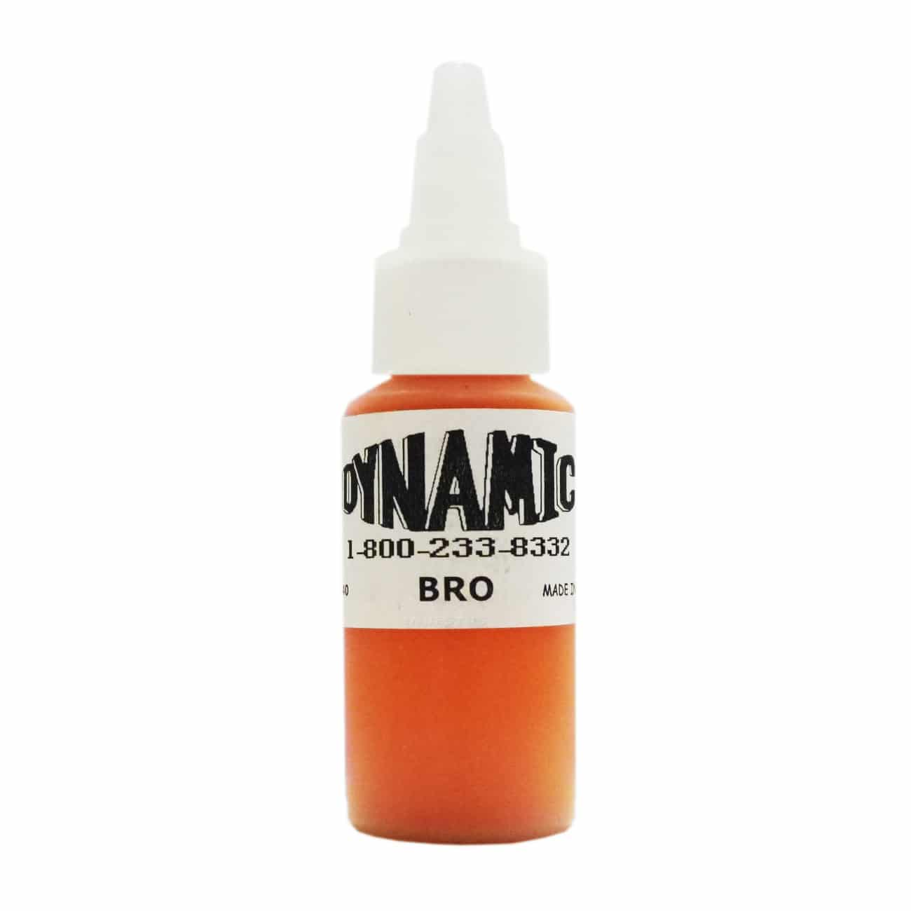 Dynamic Color Tattoo Ink 1oz: Bright Orange