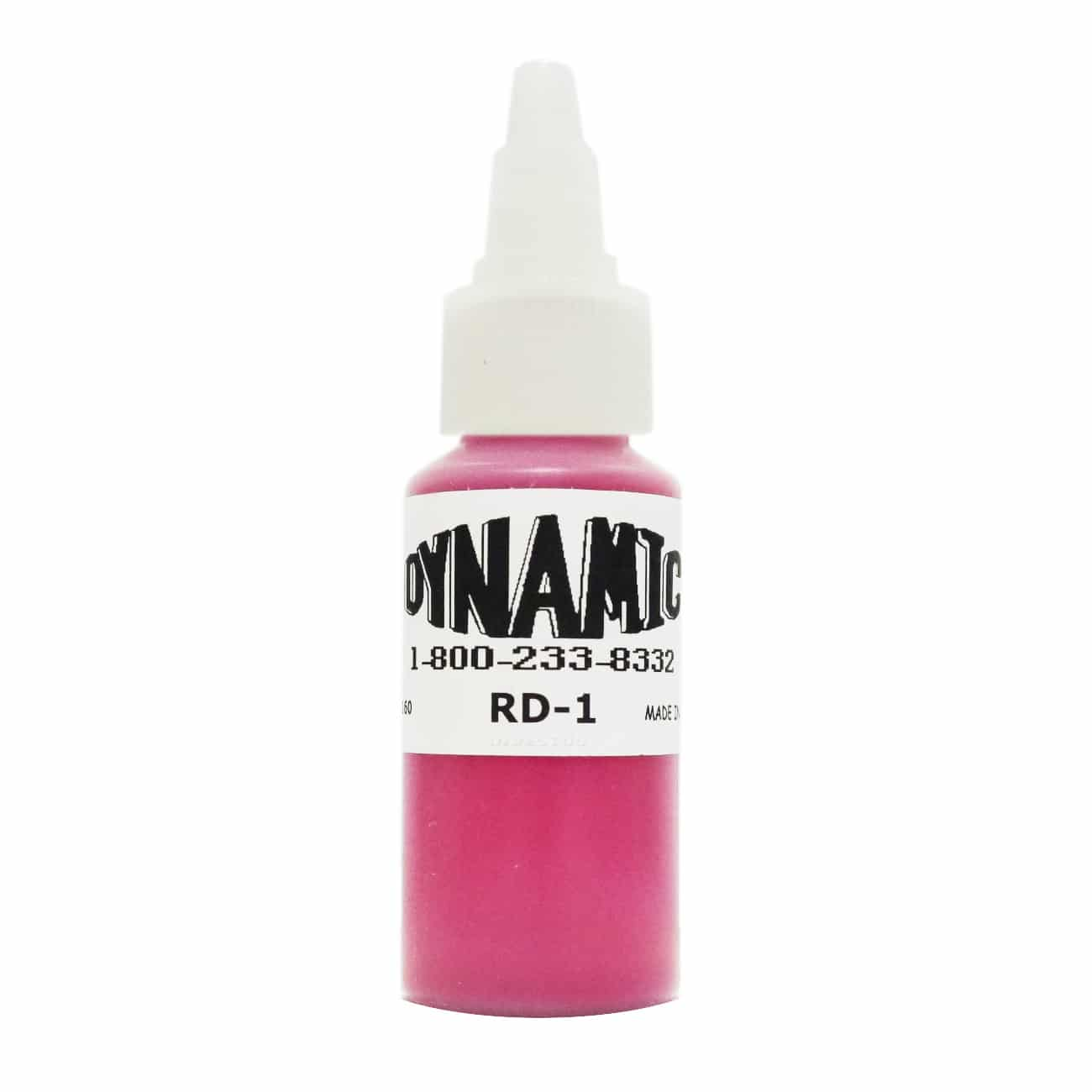 Dynamic Color Tattoo Ink 1oz: Fire Red