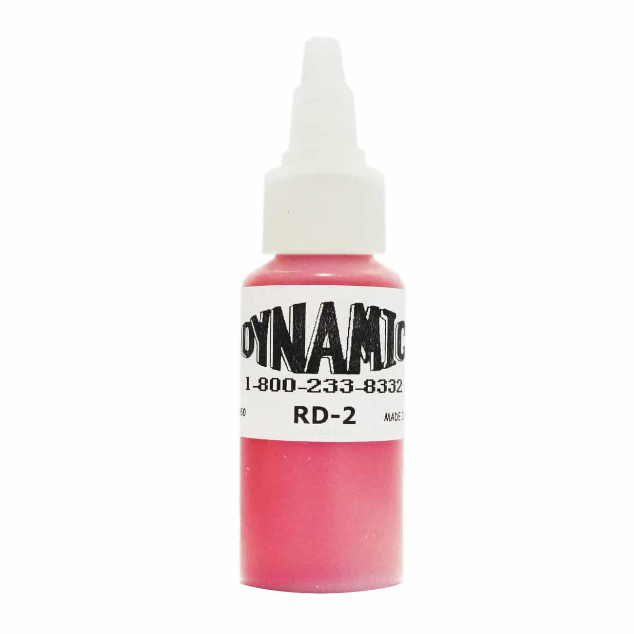 Dynamic Color Tattoo Ink 1oz: Chinese Red