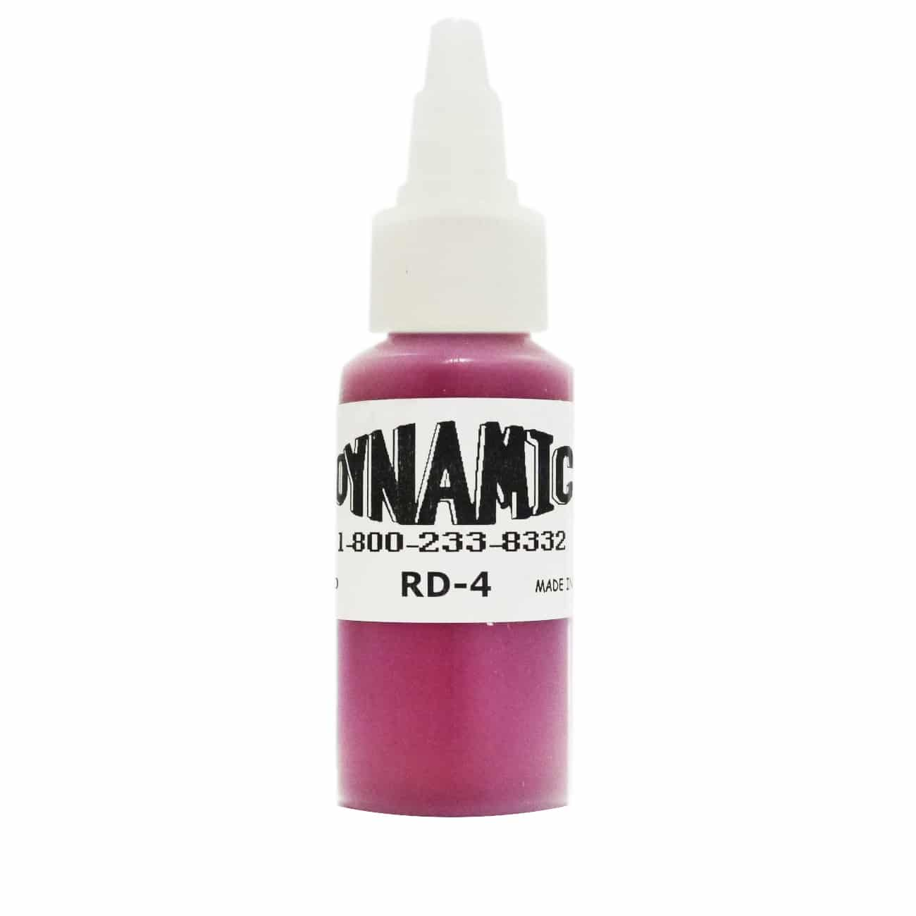 Dynamic Color Tattoo Ink 1oz: Burgundy Red