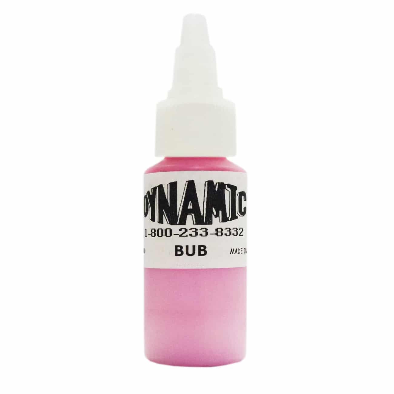 Dynamic Color Tattoo Ink 1oz: Bubblegum Pink