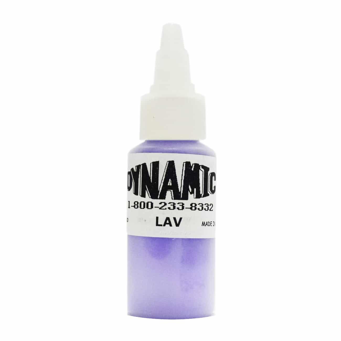 Dynamic Color Tattoo Ink 1oz: Lavender