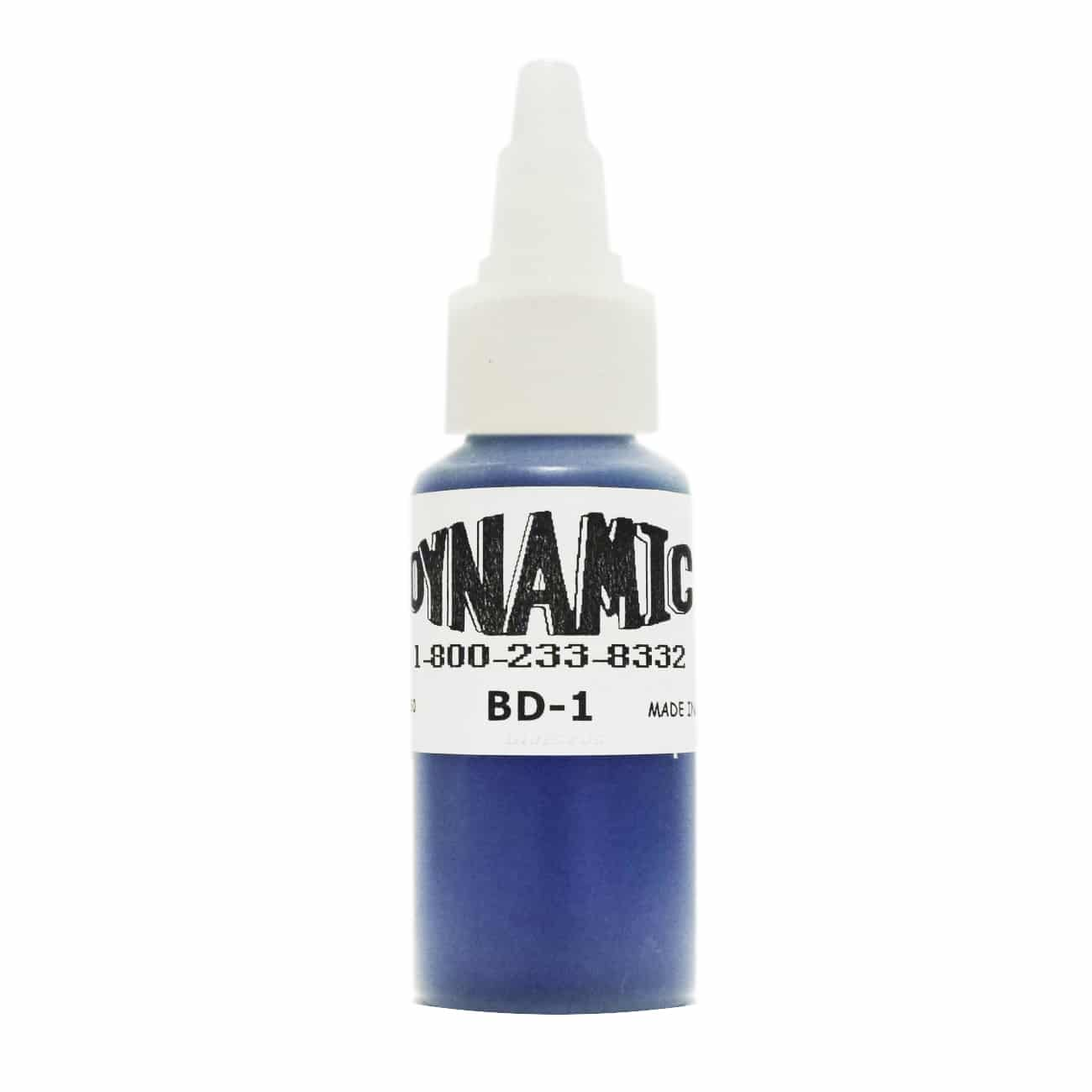 Dynamic Color Tattoo Ink: Blue