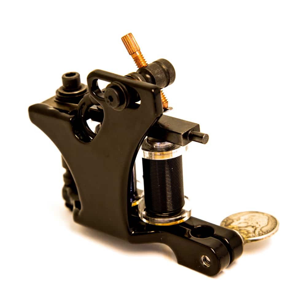 Union tattoo machine custom the anvil used by freddy negrete for Tattoo liner machine