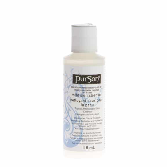 Pursan tattoo antiseptic skin cleanser 4oz for Best soap to wash tattoo