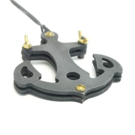 Custom Tattoo Foot Pedal Anchor 1