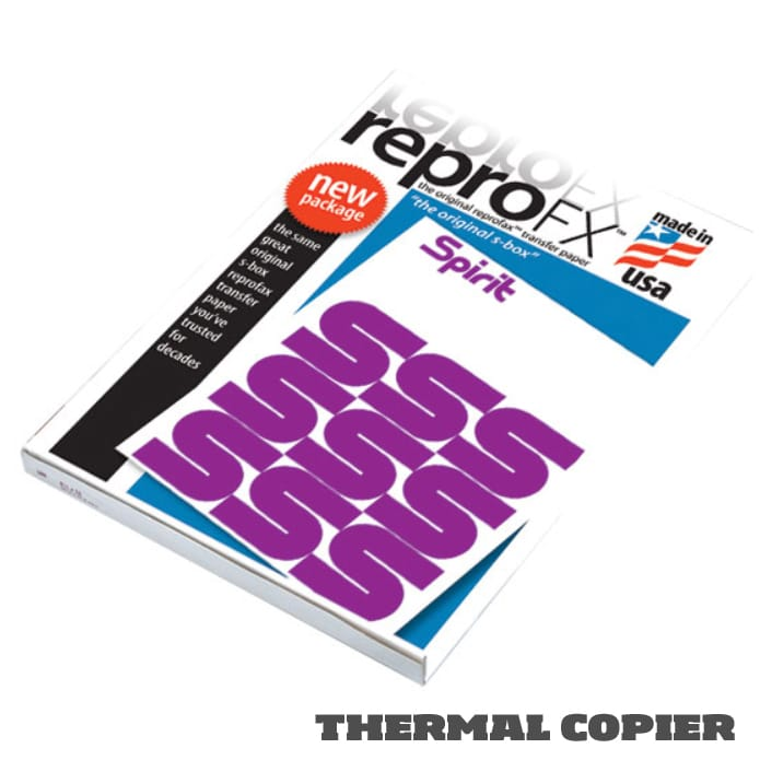 Reprofx spirit tattoo thermal transfer paper 8 1 2 x 11 for Tattoo transfer paper