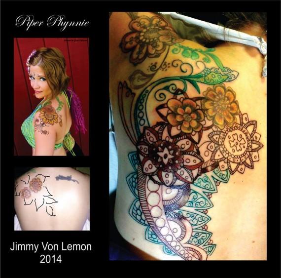 Henna Inspired Tattoo